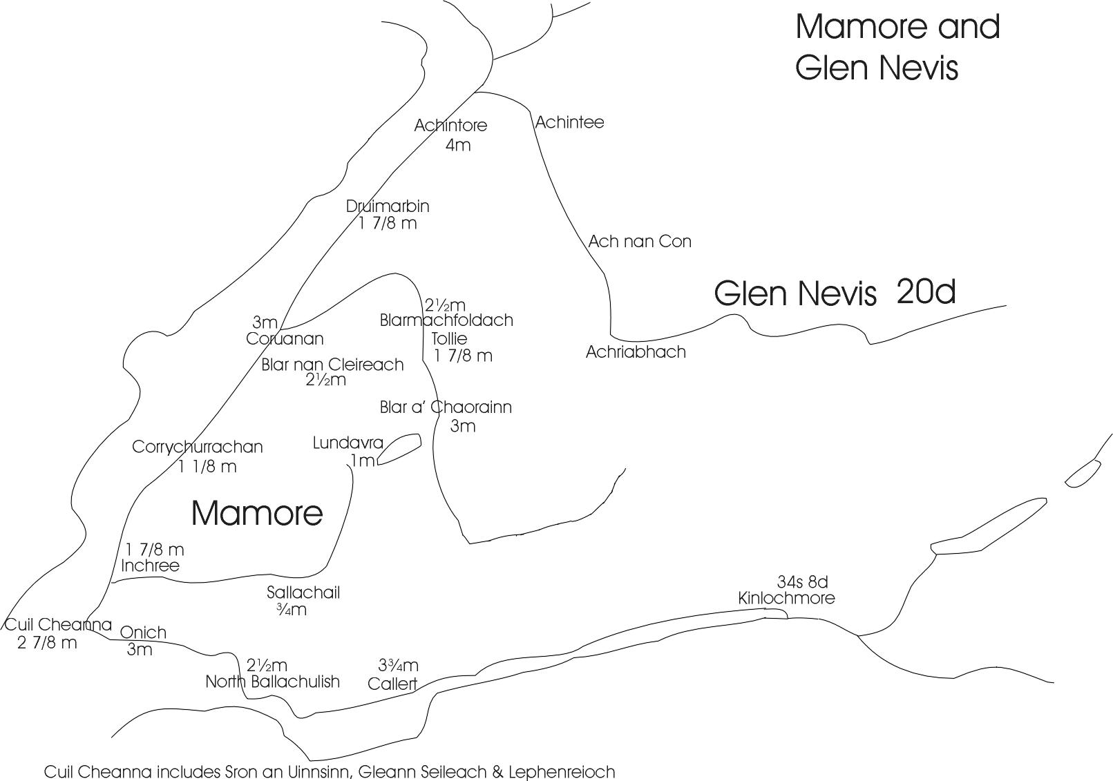 Mamore&GlenNevismap
